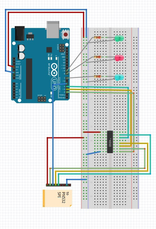 webnology - Arduino RFID access control with Eeprom storage